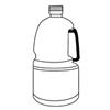 ハンドル容器