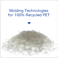 Molding Technologies for 100% Recycled PET
